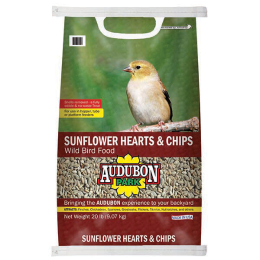 Audubon Park Sunflower Hearts & Chips Wild Bird Food 20 lb