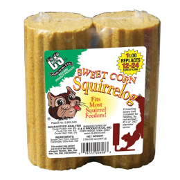C&S Sweet Corn Squirrelog 32 oz 2 Pack